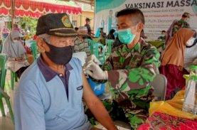 LDII Sulsel, Kodam XIV Hasanuddin, dan Ponpes Roudhotul Jannah Gelar Vaksinasi