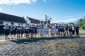 Gowes Lintas Komunitas Sepeda Makassar