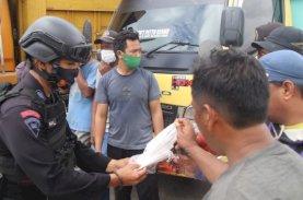 Patroli KRYD Brimob Bone Melibatkan Baznas