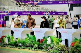Presiden Resmikan Tujuh Arena PON XX Papua