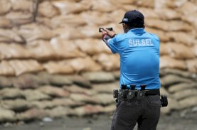 Perwira Spripim Polda Sulsel Target Sumbang Medali di Cabor Menembak