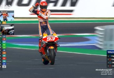 Marquez Menangi MotoGP Emilia Romagna, Quartararo Juara Dunia