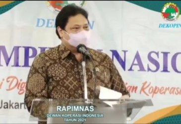 Menko Perekonomian Tegaskan NH Sah Pimpin Dekopin