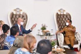 Dubes Republik Ceko Temui Plt Gubernur Sulsel Tawarkan Kerja Sama Pertanian dan Pariwisata
