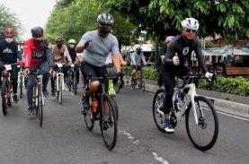 Danny Pomanto Bersama 41 Wali Kota Nikmati Jalur Gowes Monalisa