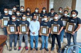 Ungkap Pencurian di Balai Kota, Danny Pomanto Beri Penghargaan kepada Jatanras Polrestabes Makassar