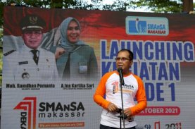 Launching Kegiatan Dekade 1 IKA Smansa Makassar, Danny Pomanto Tekankan Perkuatan Silaturahmi