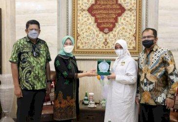 Wali Kota Makassar-Bontang Berbagi Pengalaman Bersama Wujudkan Pembangunan